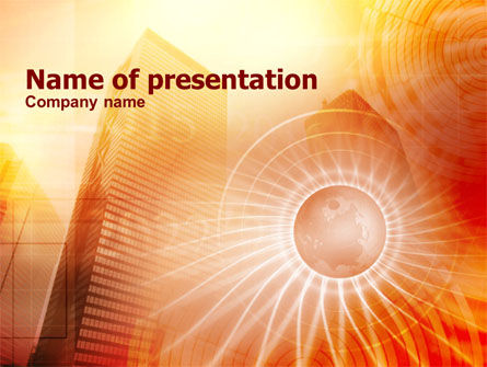 Business Concepts: Urban Civilization PowerPoint Template #00939