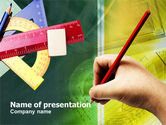 Education & Training: Rulers PowerPoint Template #00941