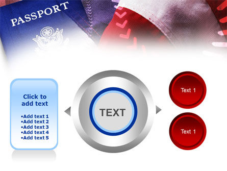 American Passport PowerPoint Template Slide 12