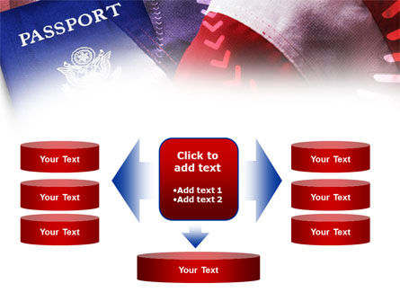 American Passport PowerPoint Template Slide 13