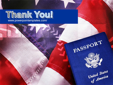 American Passport PowerPoint Template Slide 20