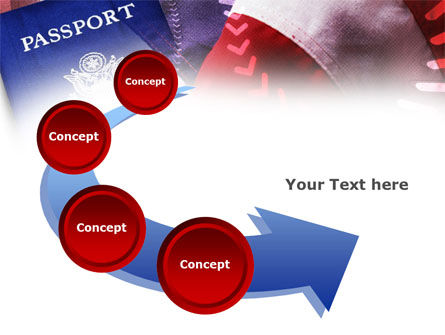 American Passport PowerPoint Template Slide 6
