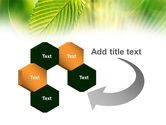 Green Leaf PowerPoint Template#11