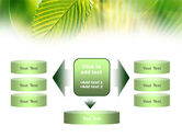 Green Leaf PowerPoint Template#13