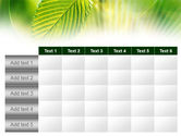 Green Leaf PowerPoint Template#15