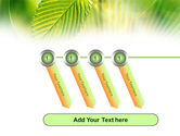 Green Leaf PowerPoint Template#18