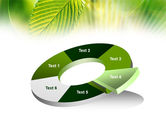 Green Leaf PowerPoint Template#19