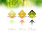 Green Leaf PowerPoint Template#5