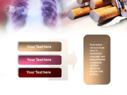 Smoking PowerPoint Template Slide 11