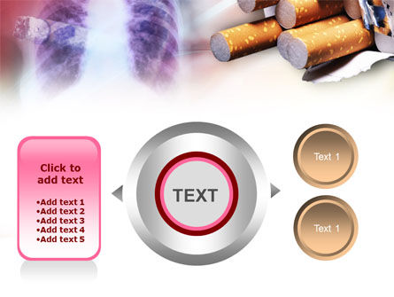 Smoking PowerPoint Template Slide 12