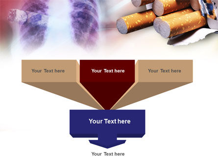 Smoking PowerPoint Template Slide 3