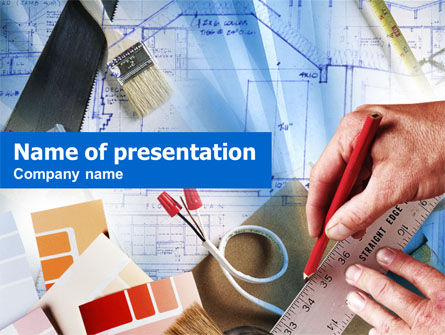 Construction: Construction Project Process PowerPoint Template #00947