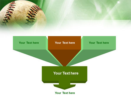 Baseball Catch PowerPoint Template Slide 3