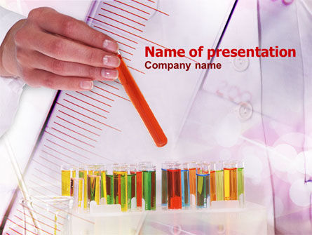 Development Of New Medicines Free PowerPoint Template