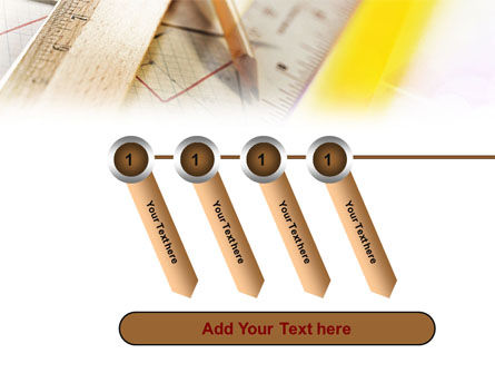 Rulers and Pencil PowerPoint Template Slide 18