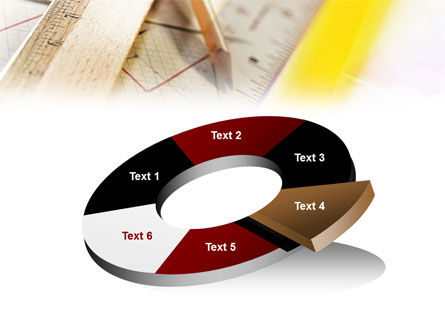 Rulers and Pencil PowerPoint Template Slide 19