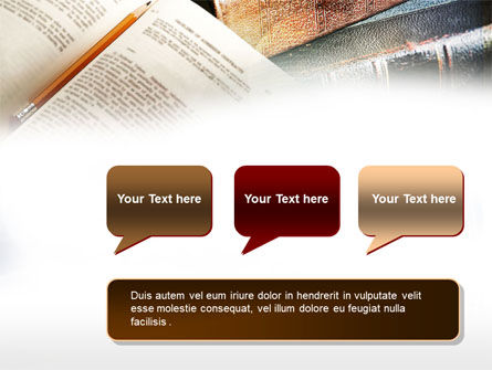 Book Reading PowerPoint Template Slide 9