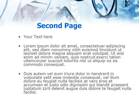 Medical Examination PowerPoint Template, Slide 2, 00954, Medical — PoweredTemplate.com