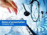 Medical: Modello PowerPoint - Visita medica #00954