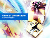 Holiday/Special Occasion: Cadeaus PowerPoint Template #00955