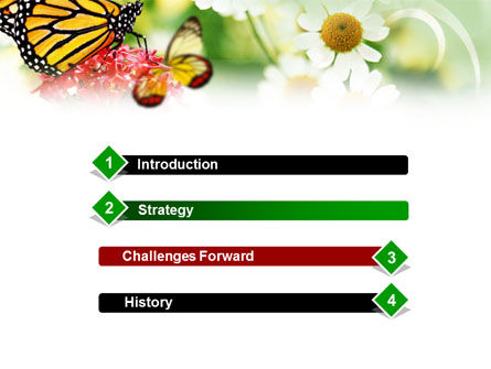Machaon Butterfly PowerPoint Template Slide 3