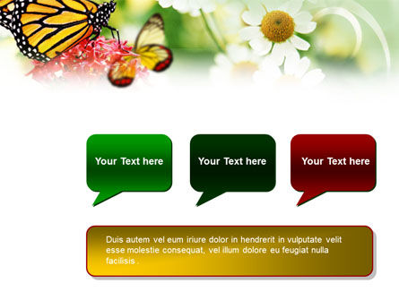 Machaon Butterfly PowerPoint Template Slide 9