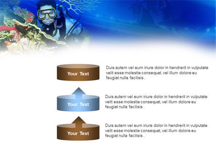 Underwater Diving PowerPoint Template Slide 10