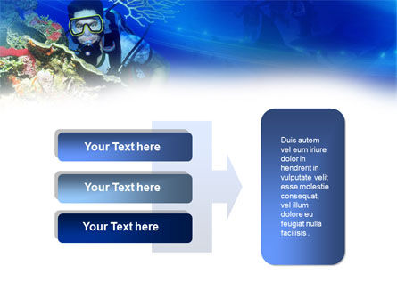 Underwater Diving PowerPoint Template Slide 11
