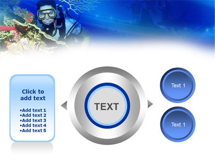 Underwater Diving PowerPoint Template Slide 12