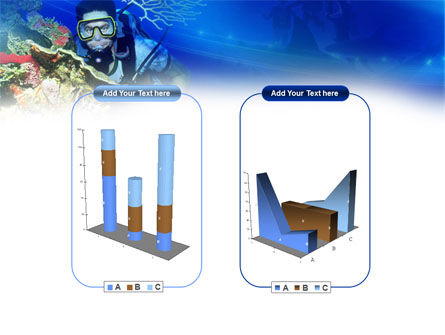 Underwater Diving PowerPoint Template Slide 13