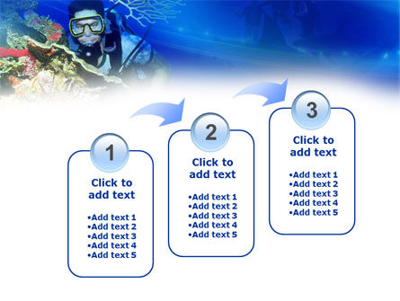 Underwater Diving PowerPoint Template Slide 14