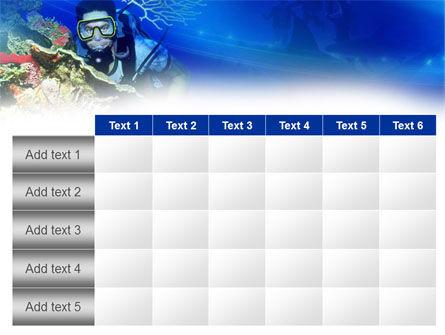 Underwater Diving PowerPoint Template Slide 15