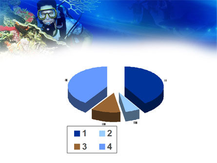 Underwater Diving PowerPoint Template Slide 17
