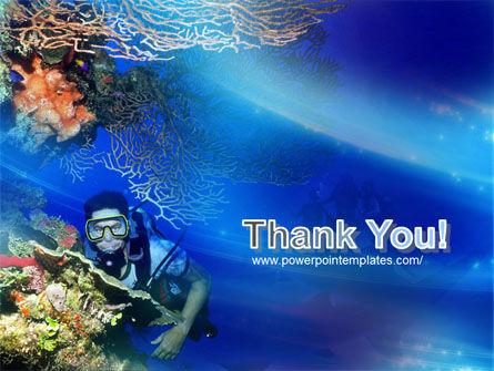 Underwater Diving PowerPoint Template Slide 20