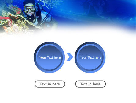 Underwater Diving PowerPoint Template Slide 5
