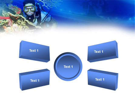 Underwater Diving PowerPoint Template Slide 6