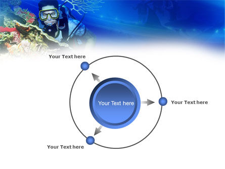 Underwater Diving PowerPoint Template Slide 7