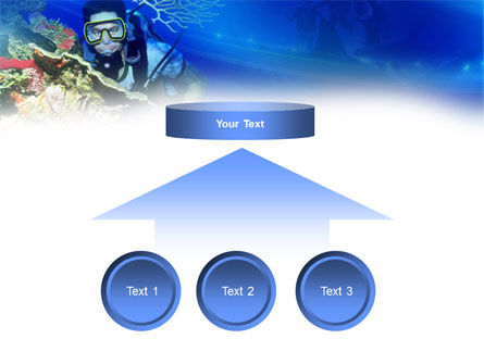 Underwater Diving PowerPoint Template Slide 8