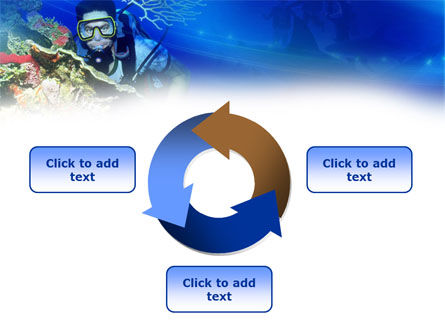 Underwater Diving PowerPoint Template Slide 9