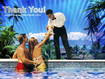 Pool Bar PowerPoint Template Slide 20