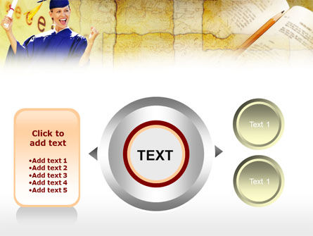 Graduate Student PowerPoint Template Slide 12