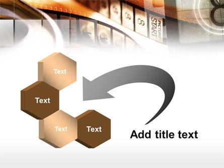Movie Reel PowerPoint Template Slide 11
