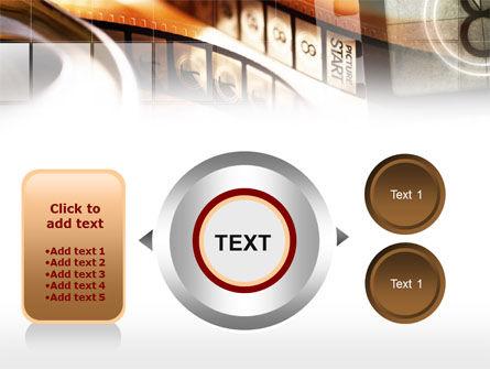 Movie Reel PowerPoint Template Slide 12