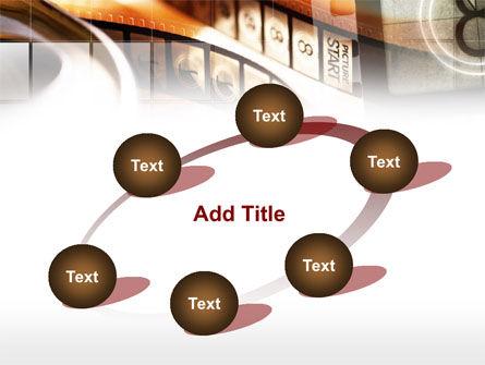Movie Reel PowerPoint Template Slide 14