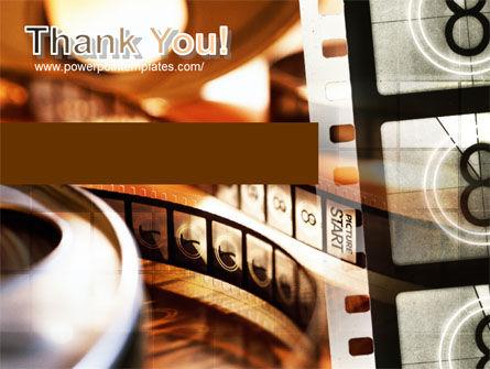 Movie Reel PowerPoint Template Slide 20