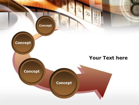 Movie Reel PowerPoint Template Slide 6
