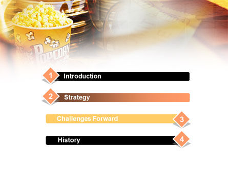 Popcorn PowerPoint Template Slide 3