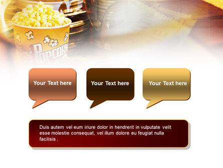 Popcorn PowerPoint Template Slide 9