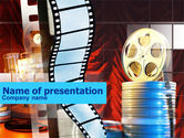 Art & Entertainment: Movie PowerPoint Template #00963