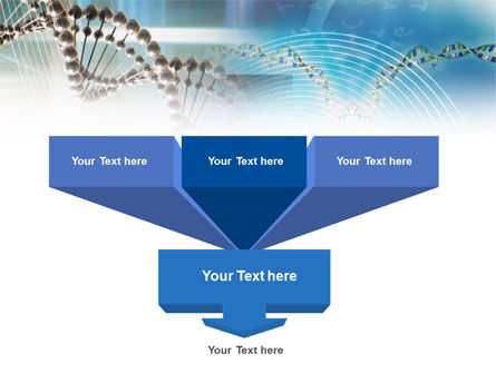 Genome Research PowerPoint Template, Slide 3, 00966, Medical — PoweredTemplate.com